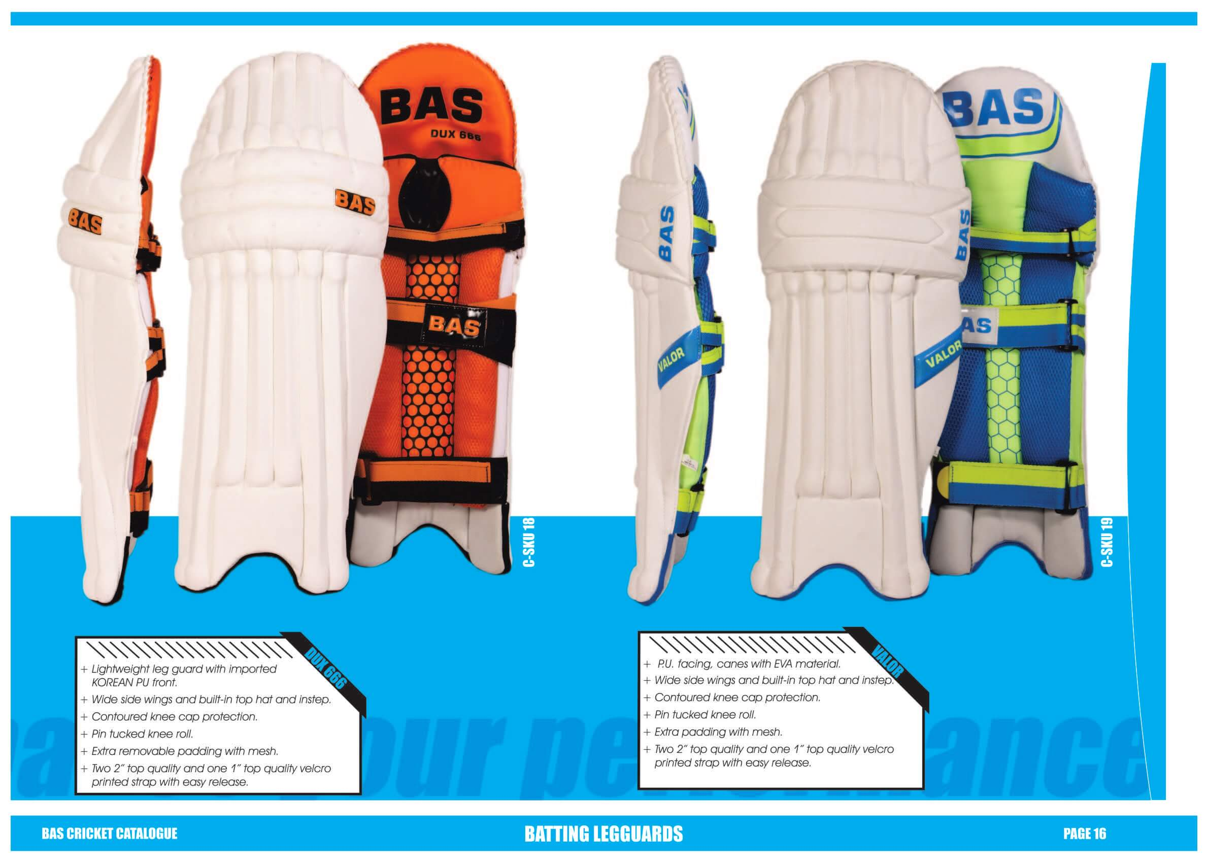 BAS Cricket Catalogue 2018